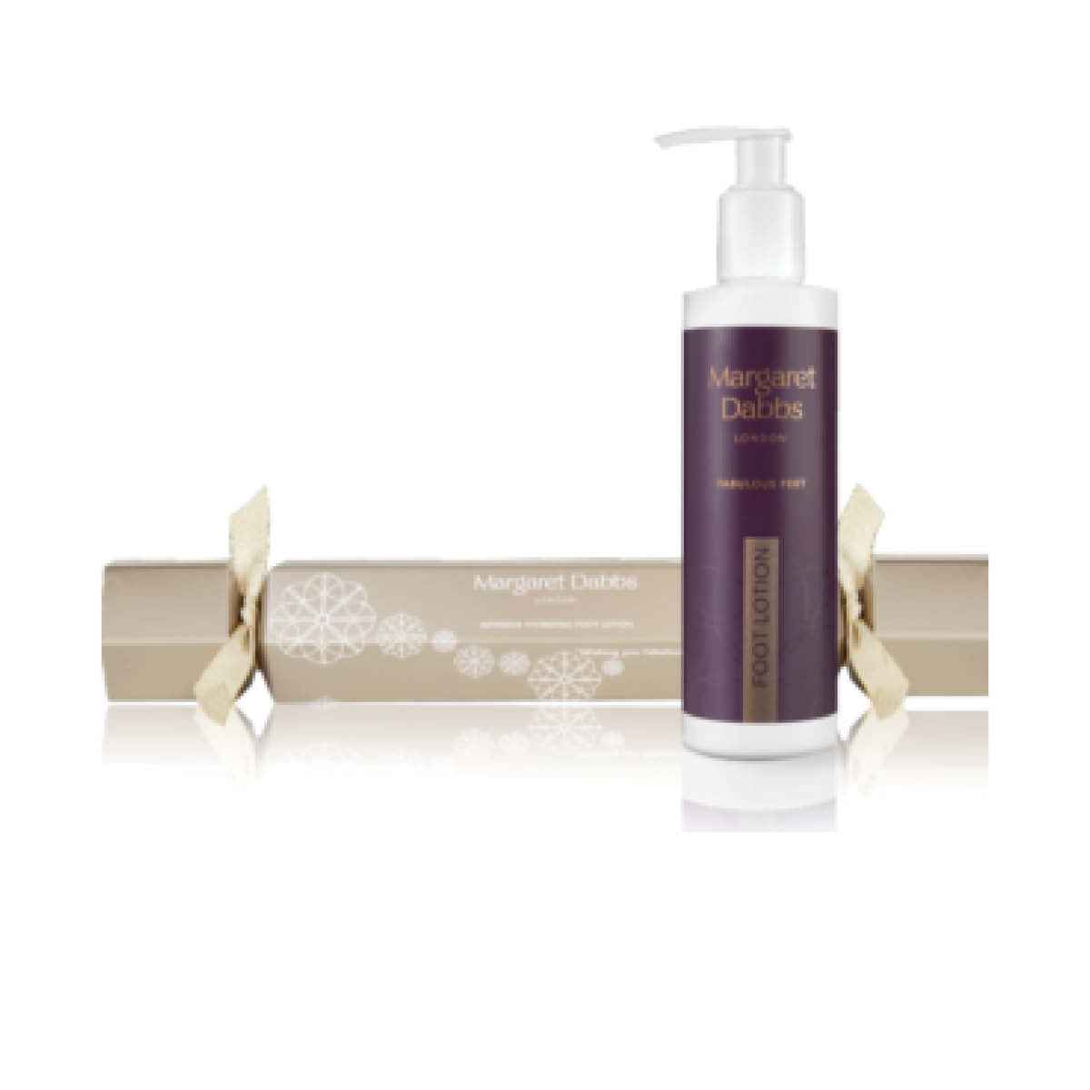 Margaret Dabbs Fabulous Christmas Cracker with Intensive Hydrating Foot Lotion