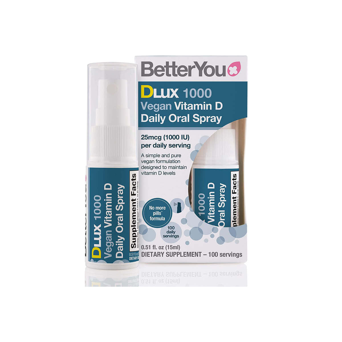 BetterYou DLux Vegan Vit D Daily Oral Spray