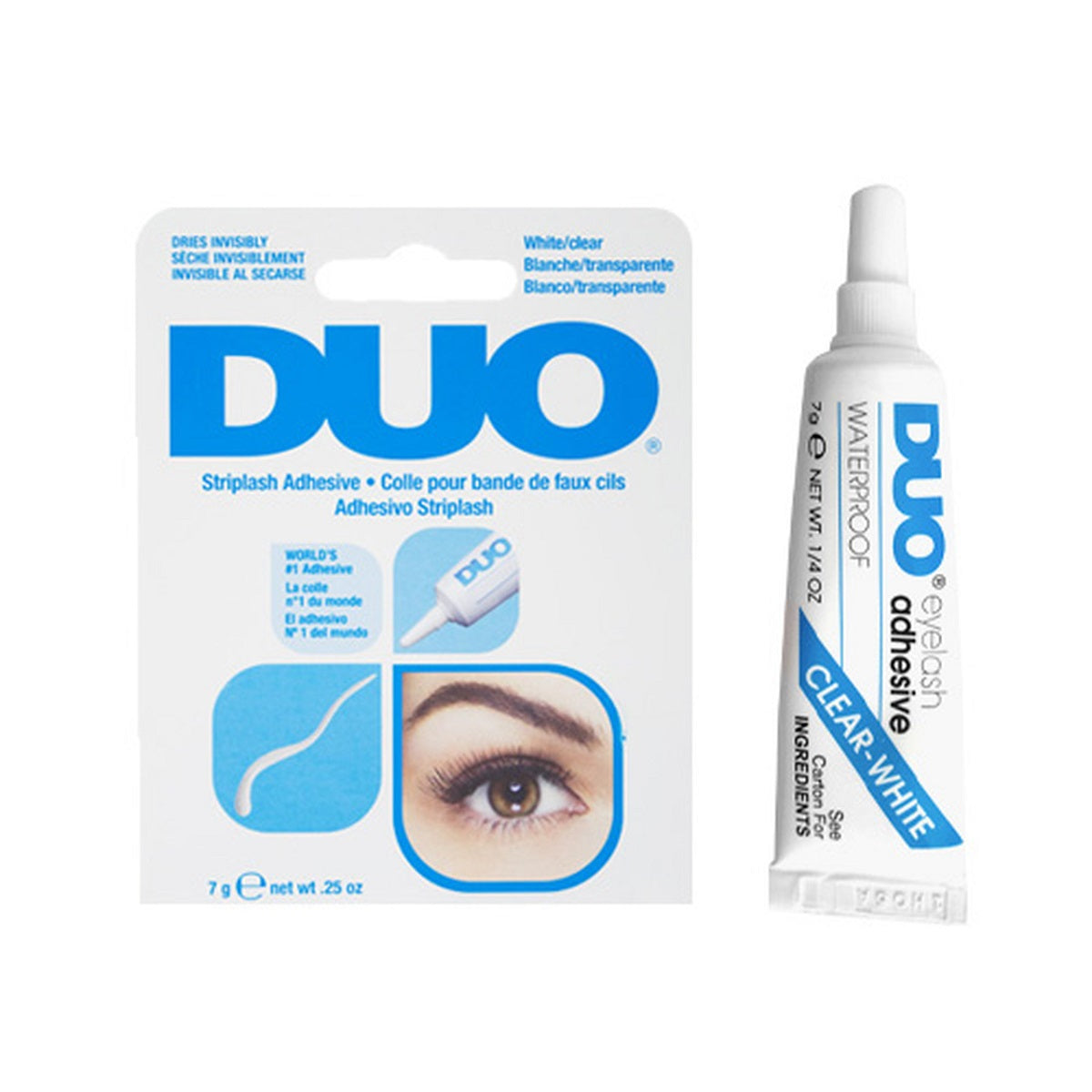 Duo White Clear Lash Glue