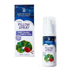 Bloom and Blossom The Very Hungry Caterpillar Baby Pillow Spray