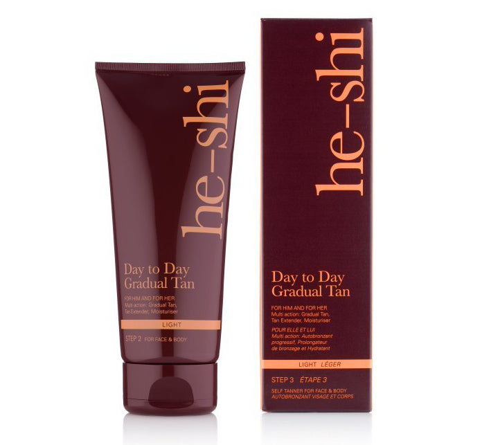 He Shi Day to Day Gradual Tan 200mls