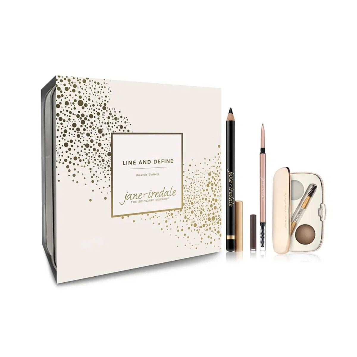 Jane Iredale  Line & Define Brow Kit Medium Gift Set