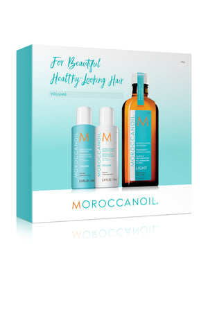 Moroccanoil Volume Gift Set with Treatment, Shampoo & Conditioner