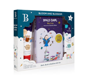 Bloom and Blossom Roald Dahl Matilda Bath, Book & Bedtime Gift Set
