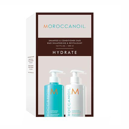 Moroccanoil Hydrating Shampoo & Conditioner 500ml Twin Pack