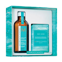 Moroccanoil Treatment Light 100ml with FREE Soap