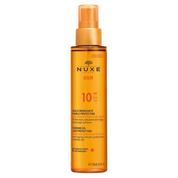 Nuxe Sun Tanning Oil Low Protection SPF 10