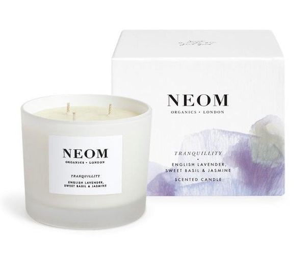 Neom Scent to Sleep Tranquility Candle 3 Wick
