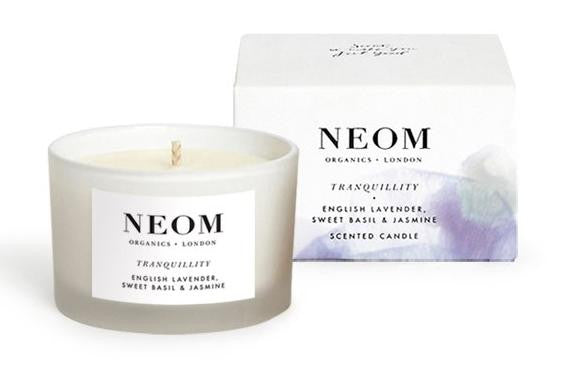 Neom Tranquility Travel Candle In Salon
