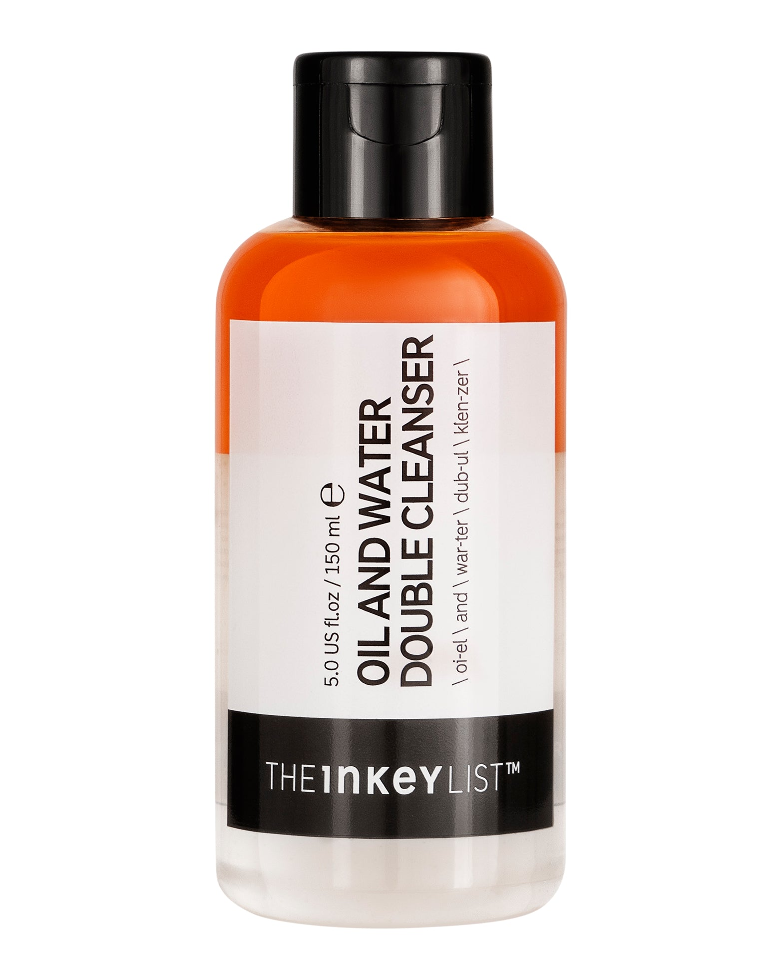 The Inkey List Oil/Water Double Cleanser