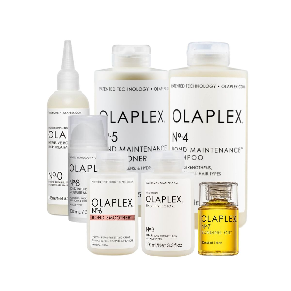 Olaplex Complete Repair, Hydrate, and Protect Solution Bundle
