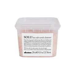 Davines Solu Sea Salt Scrub Cleanser