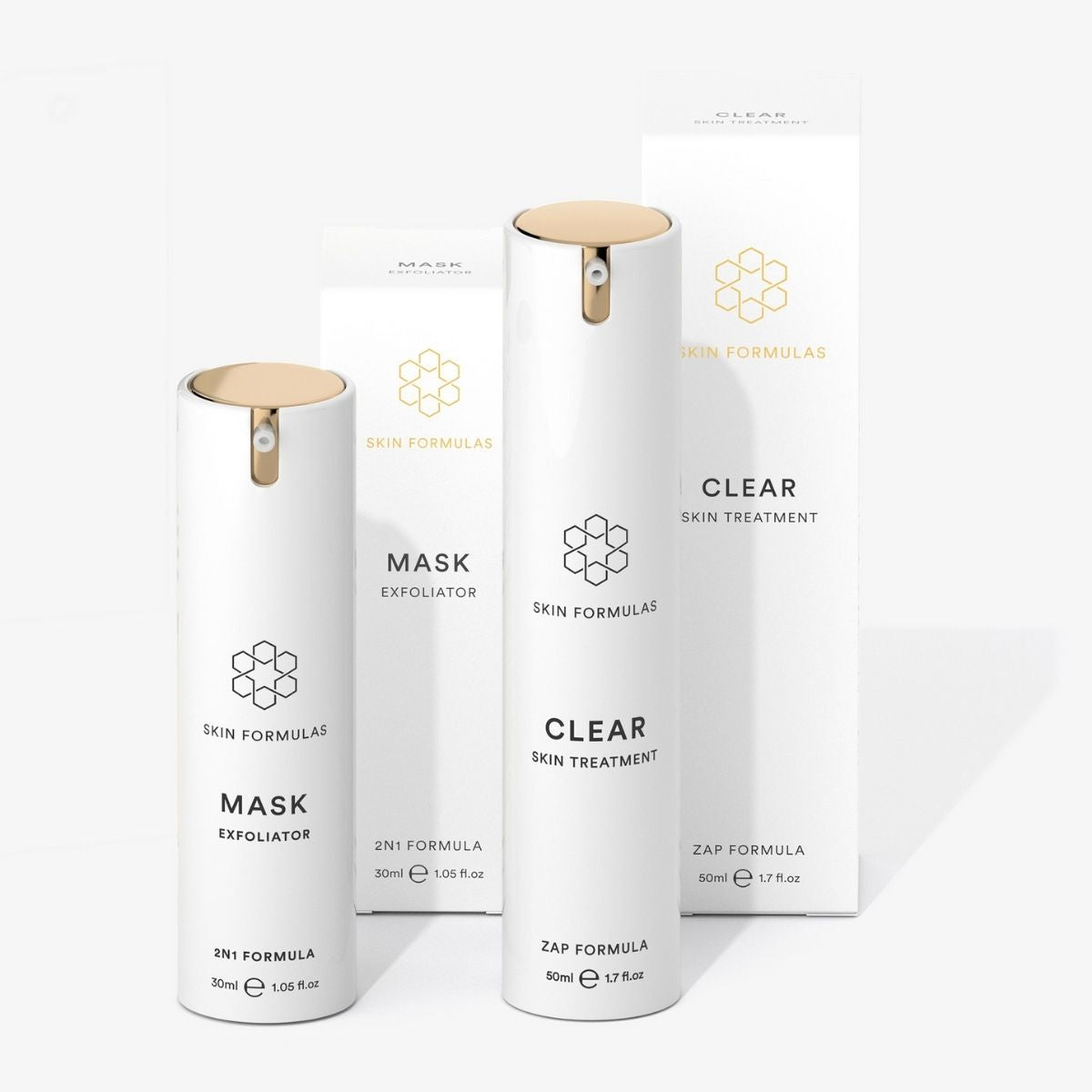 Skin Formulas Crystal Clear Duo Gift Set  -  Clear Skin & Mask
