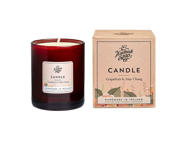 The Handmade Soap Company Grapefruit and May Chang Candle