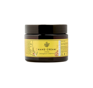 The Handmade Soap Company Lemongrass & Cedarwood Hand Cream Pot
