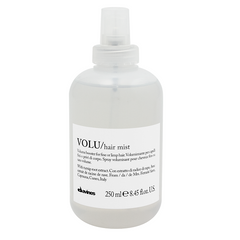 250ml Davines Volu Hair Mist is a light leave in primer spray developed for fine, limp hair requiring volume.