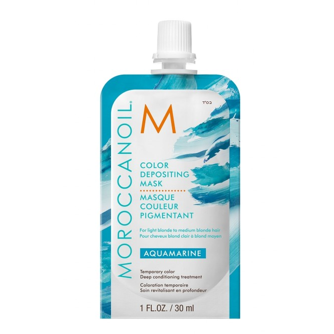 Moroccanoil Color Depositing Mask Sachet Aquamarine
