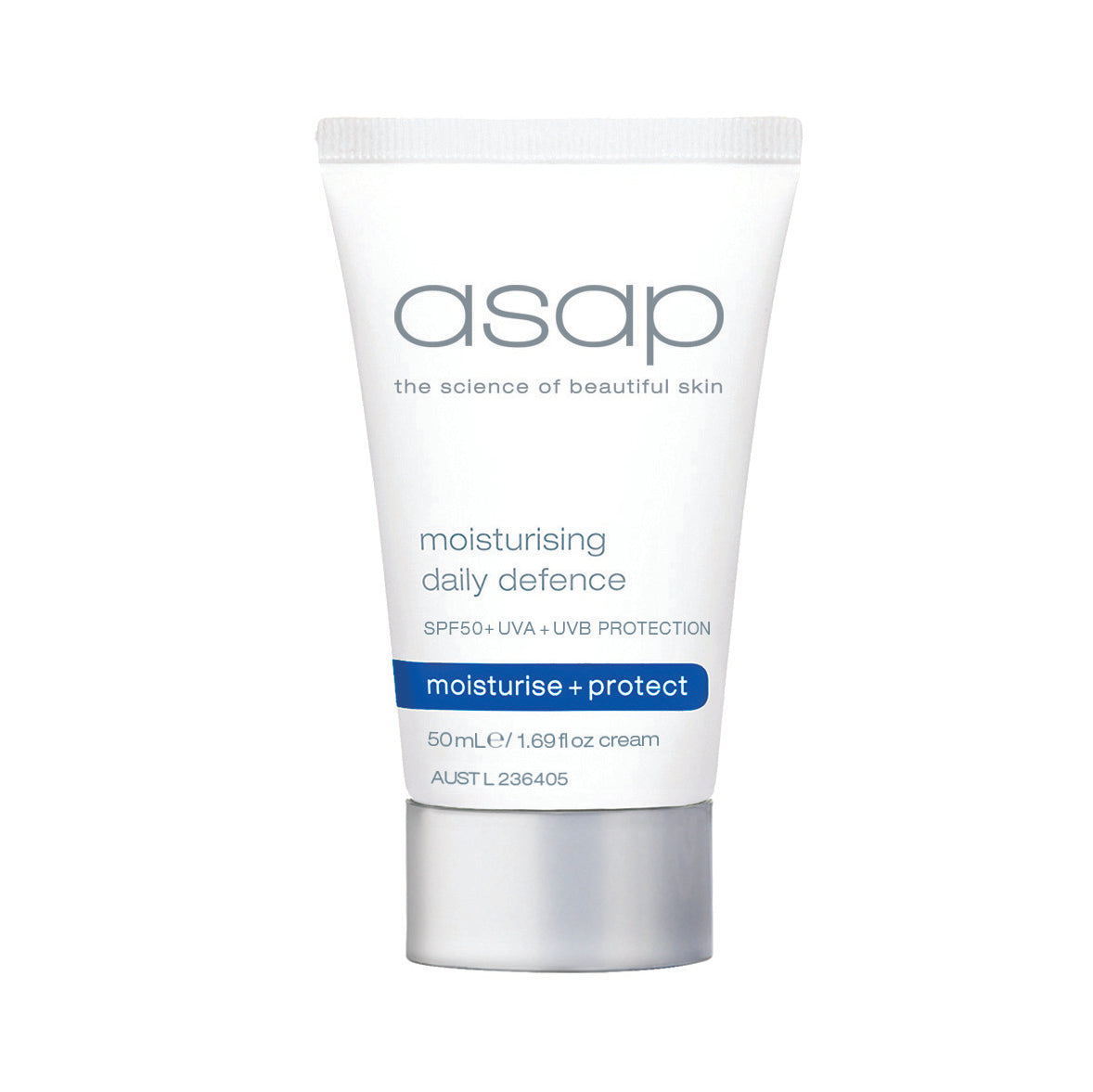 ASAP Moisturising Daily Defense SPF50+ Travel Size