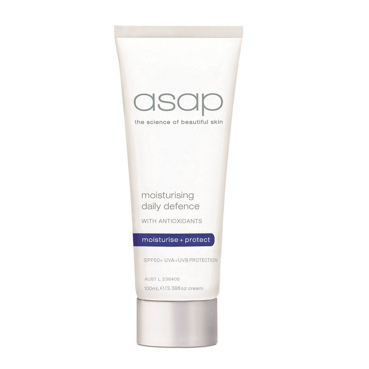 ASAP Moisturising Daily Defense SPF50+