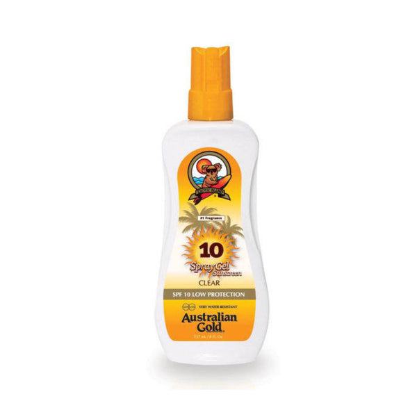 Australian Gold SPF10 Spray Gel Sunscreen