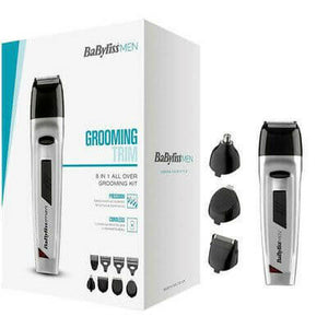 Babyliss Men's Grooming Trim 8-in-1 All Over Grooming Kit