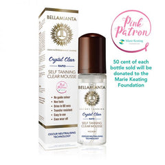 Bellamianta Crystal Clear Rapid Tanning Clear Mousse