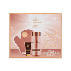 Bellamianta Luxury Tanning Liquid Gold Lovers Dark Gift Set