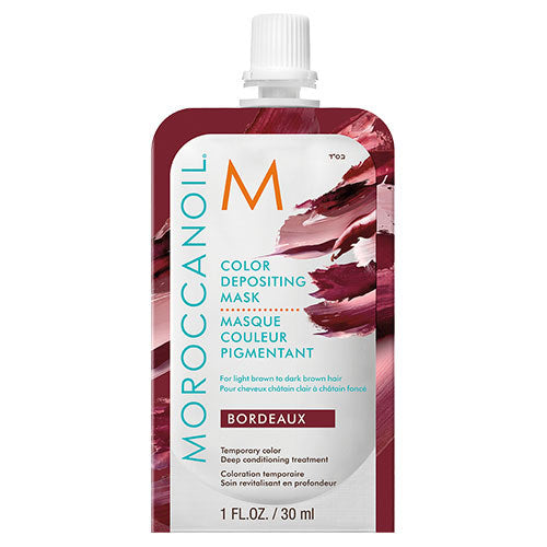 Moroccanoil Color Depositing Mask Sachet Bordeaux