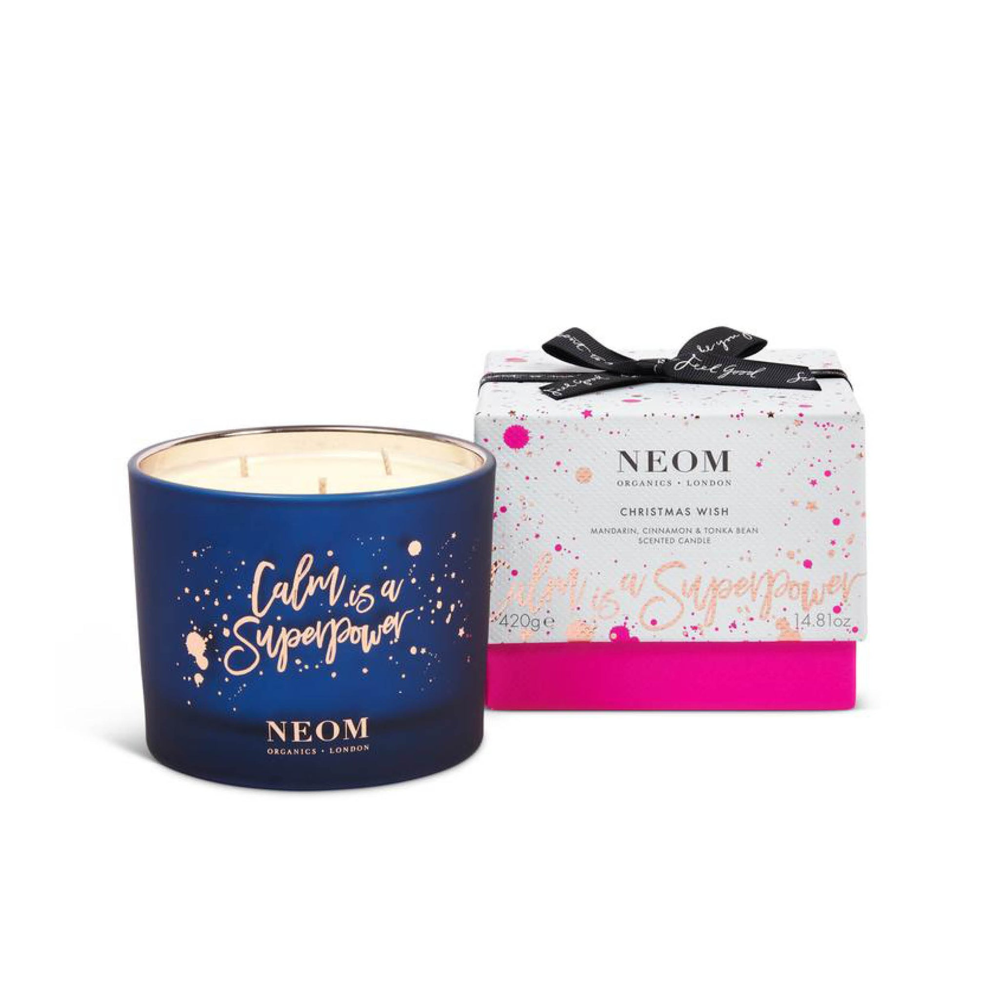 Neom Christmas Wish 3 Wick Candle