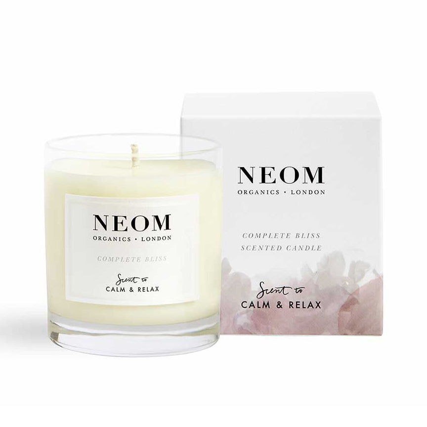Neom Scent to Calm & Relax Complete Bliss Scented Candle 1 wick