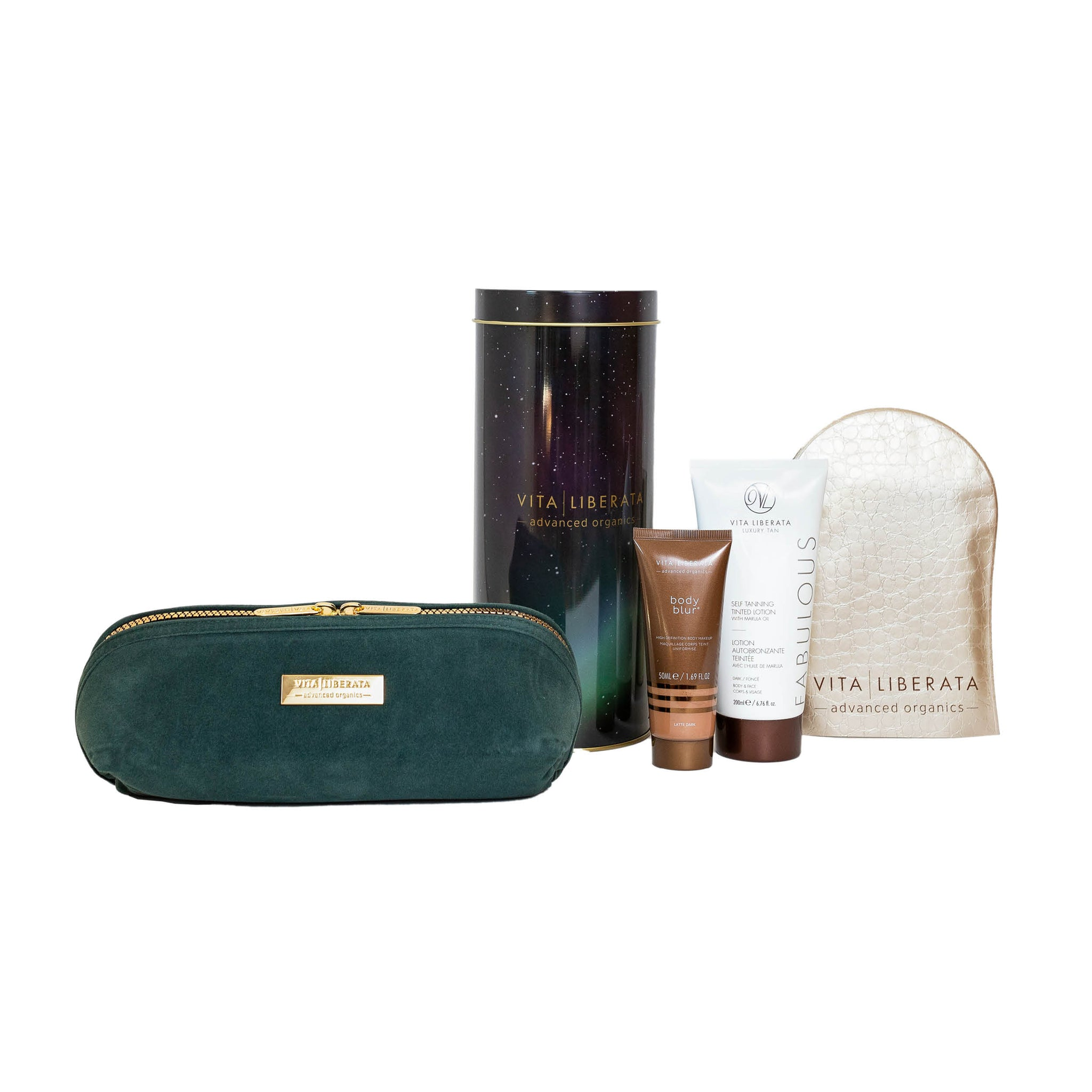 Vita Liberata Fabulous Tan & Glow Dark Lotion Gift Set