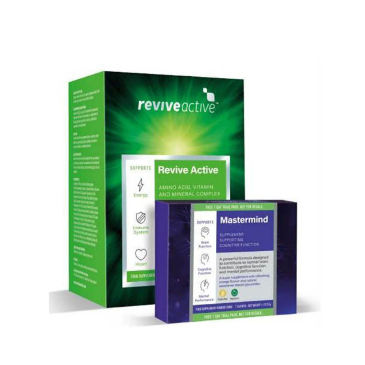 Revive Active 30 Sachets & Free 7 Day Revive Mastermind