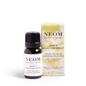 Neom Scent To Boost Your Energy Focus The Mind Essential Oil Blend
