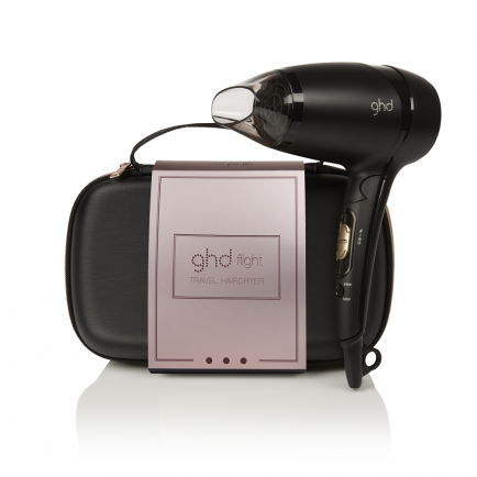 ghd Flight Travel Hairdryer Rose Gold