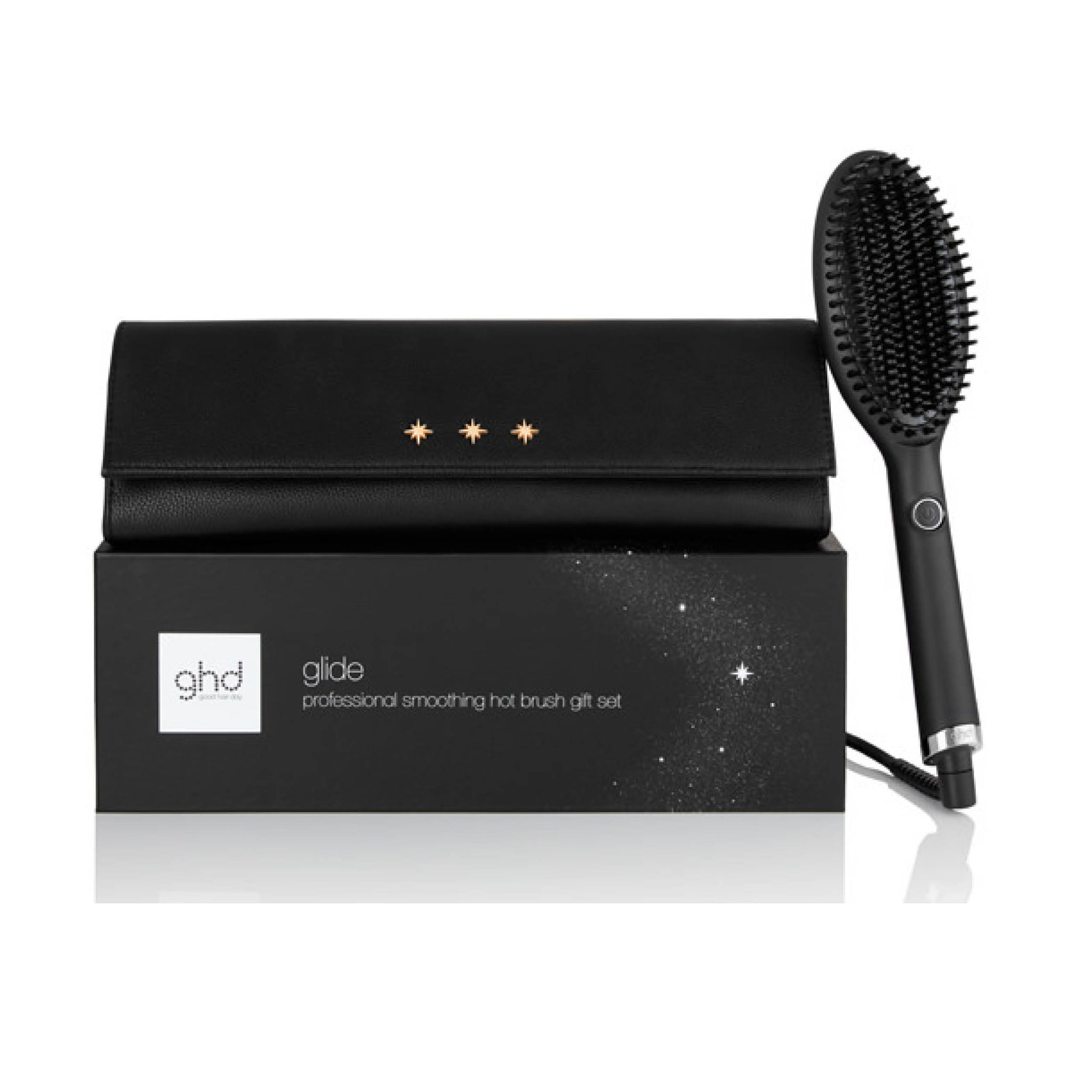 GHD Glide Professional Smoothing Hot Brush Gift Set