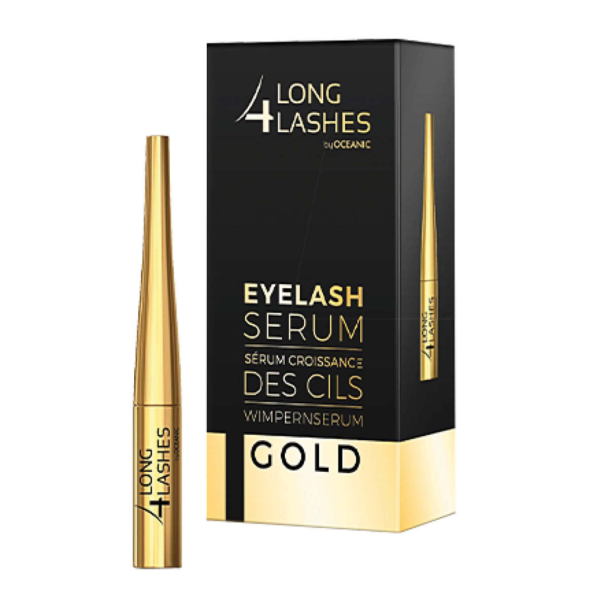 Long4Lashes Eyelash Growth Gold Serum