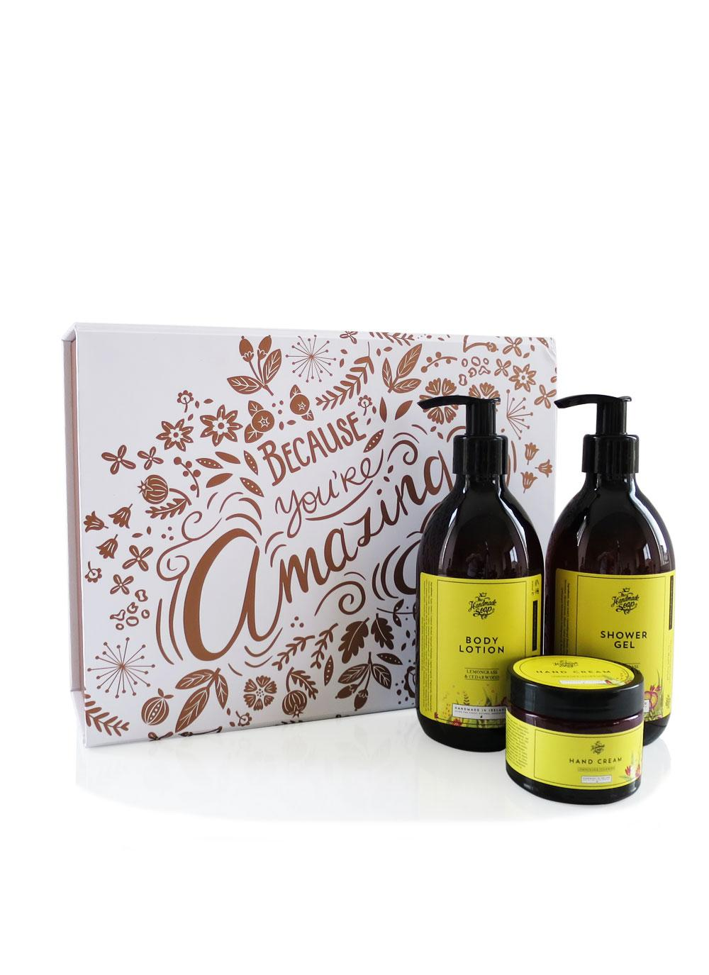 Handmade Soap Company Because You're Amazing Gift Set