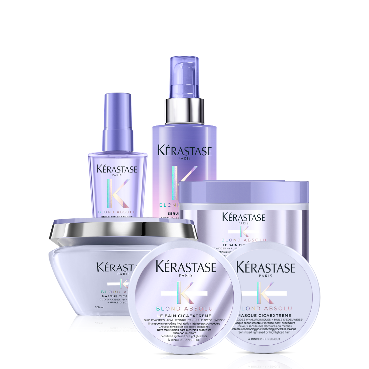 Kerastase Blond Absolu Cicaextreme Restoring Solution Bundle