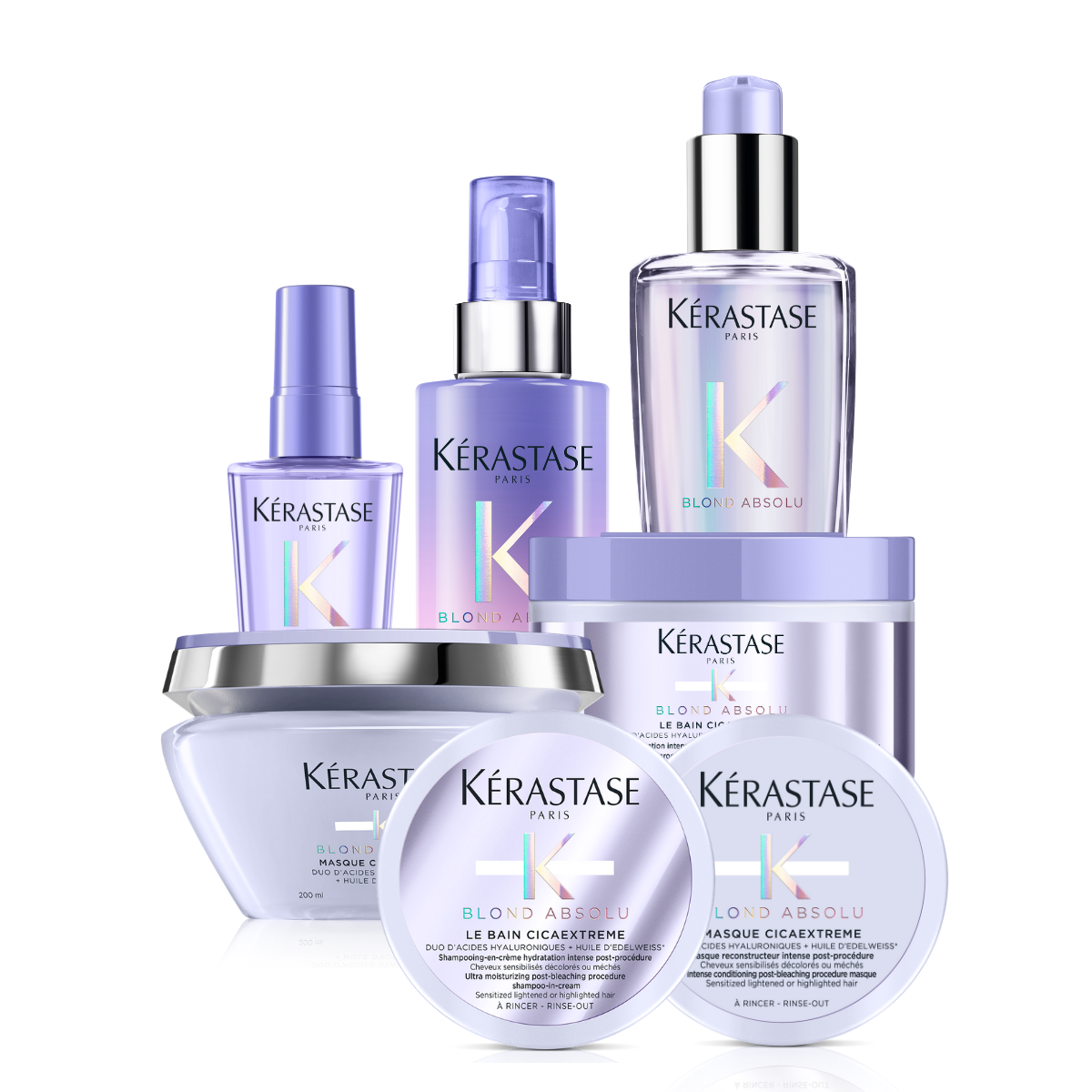 Kerastase Blond Absolu Cicaextreme Ultimate Solution Bundle