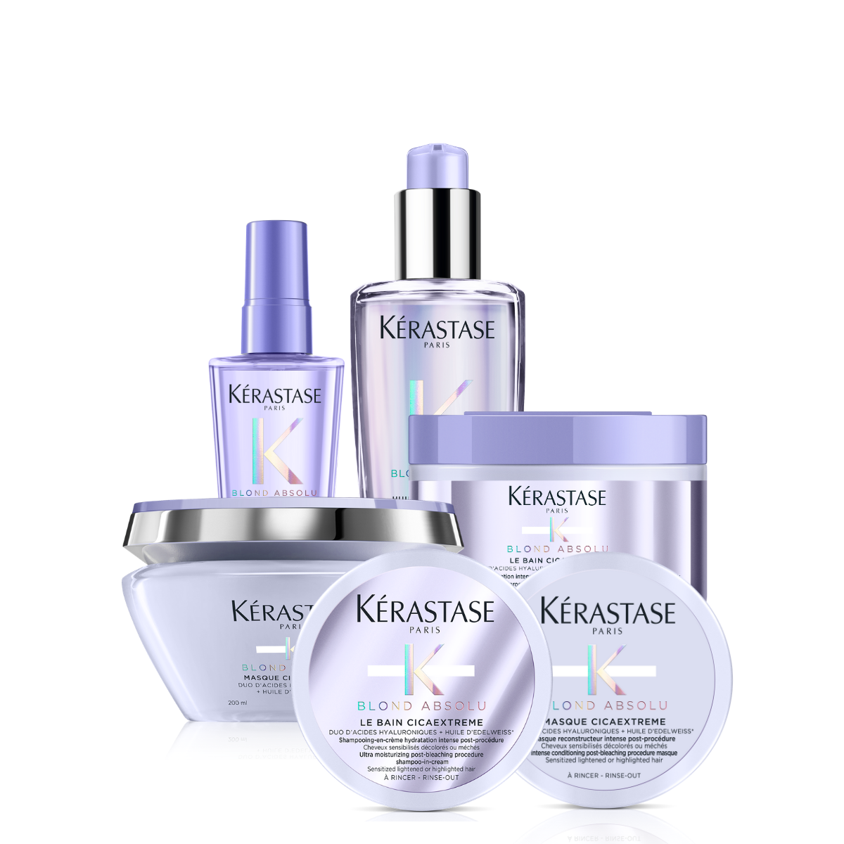 Kérastase Blond Absolu Cicaextreme Strength and Hydration Solution Bundle