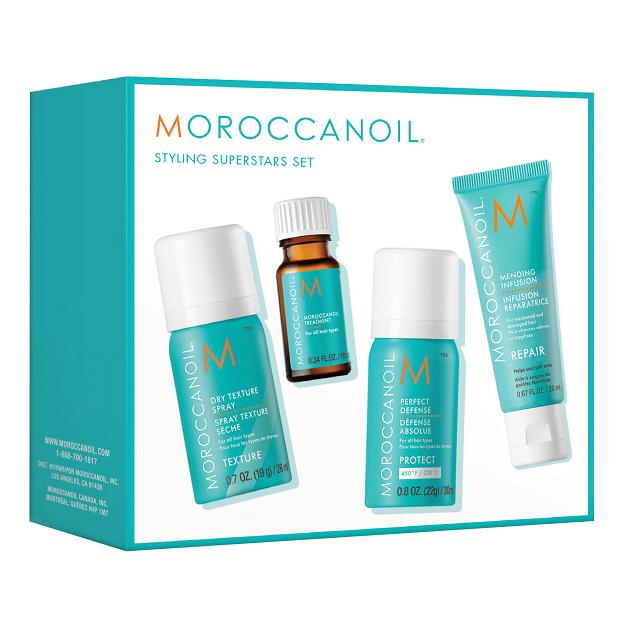 Moroccanoil Styling Superstars Try Me Kit
