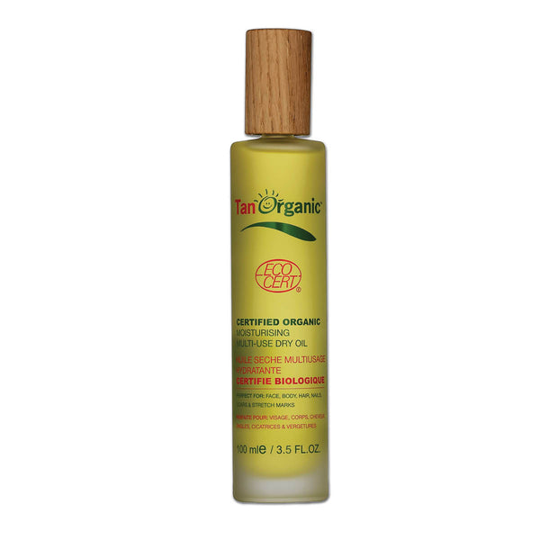 Tan Organic Multi-Use Dry Oil