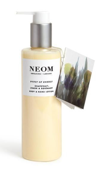 Neom Scent to Boost Your Energy Body & Hand Lotion