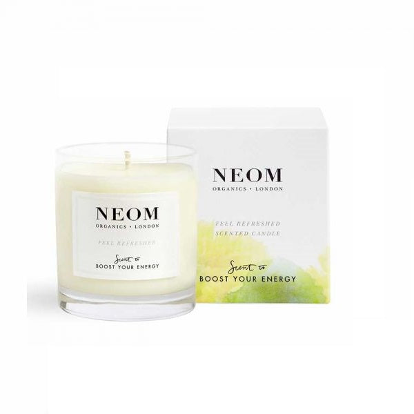 Neom Scent to Boost Your Energy Feel Refreshed Candle 1 Wick