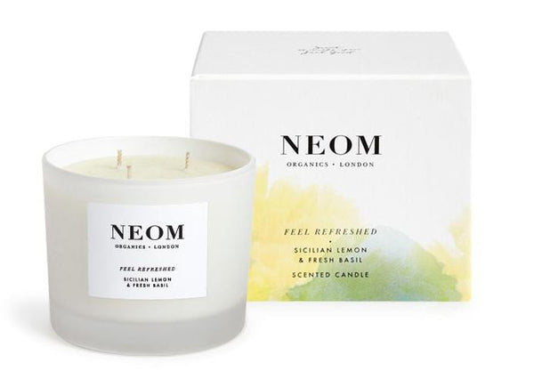 Neom Feel Refreshed Candle 3 Wick In Salon