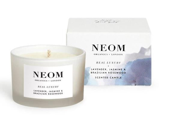 Neom Scent to De-Stress Real Luxury Travel Candle