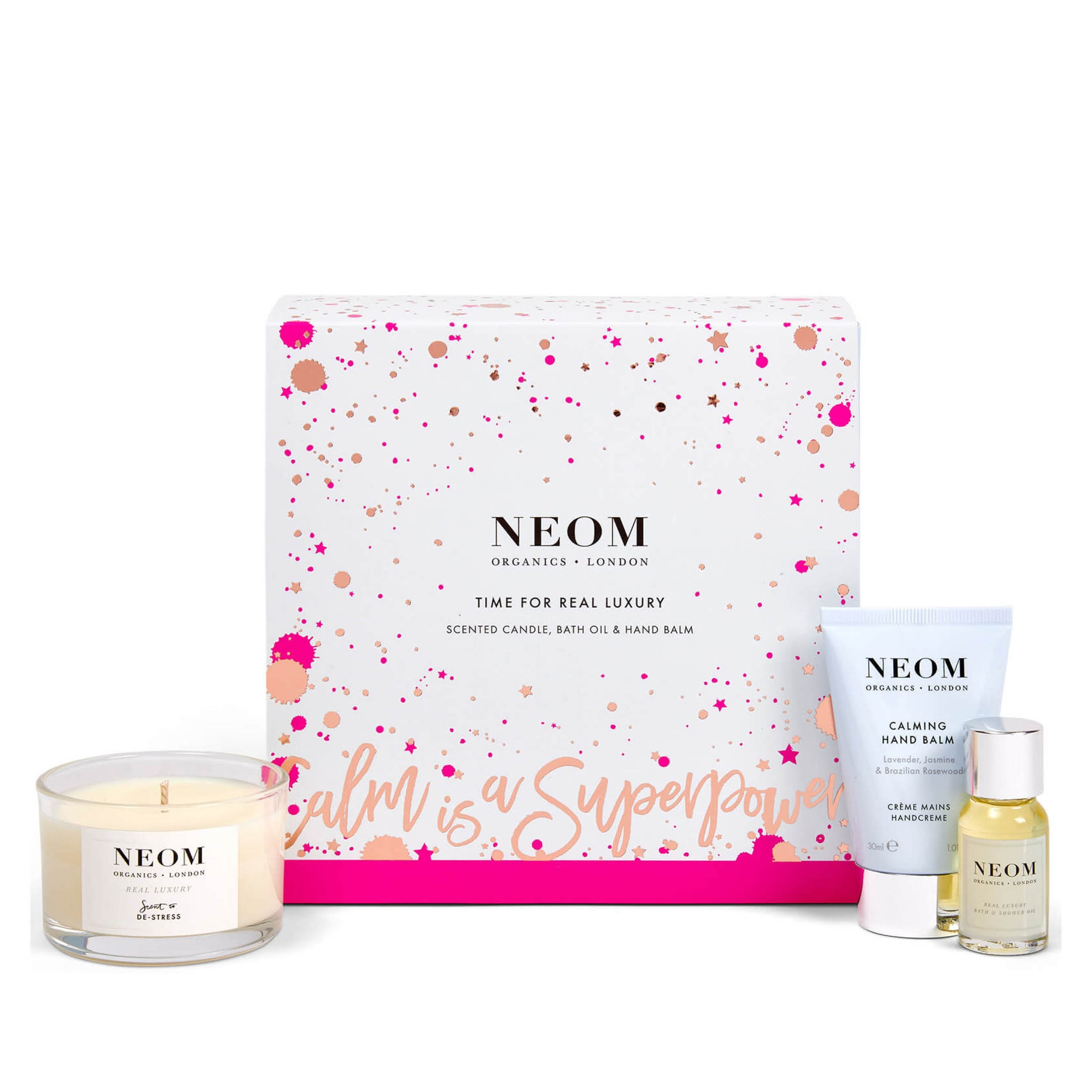 Neom Time for Real Luxury Gift Set