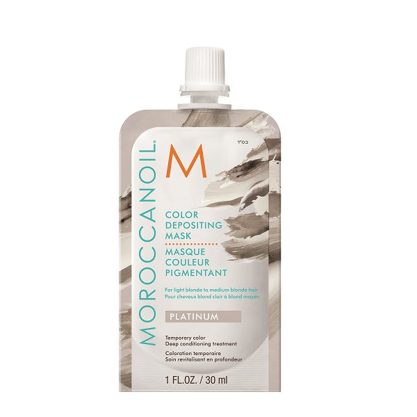 Moroccanoil Color Depositing Mask Sachet Platinum