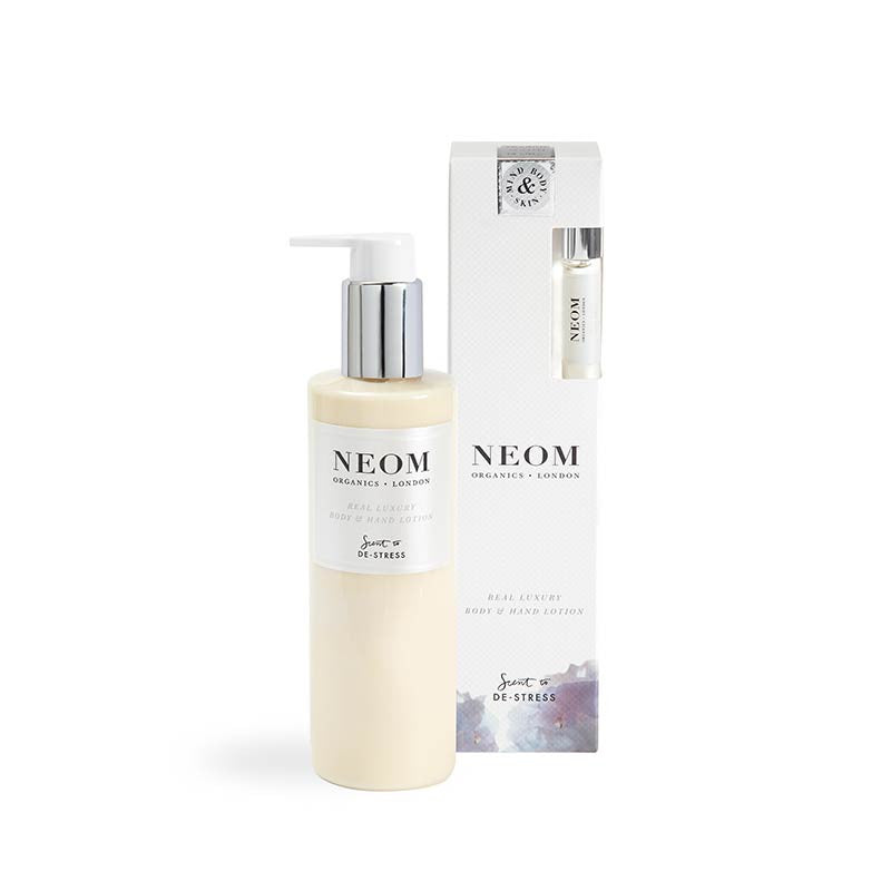 Neom Scent to De-Stress Real Luxury Body & Hand Lotion