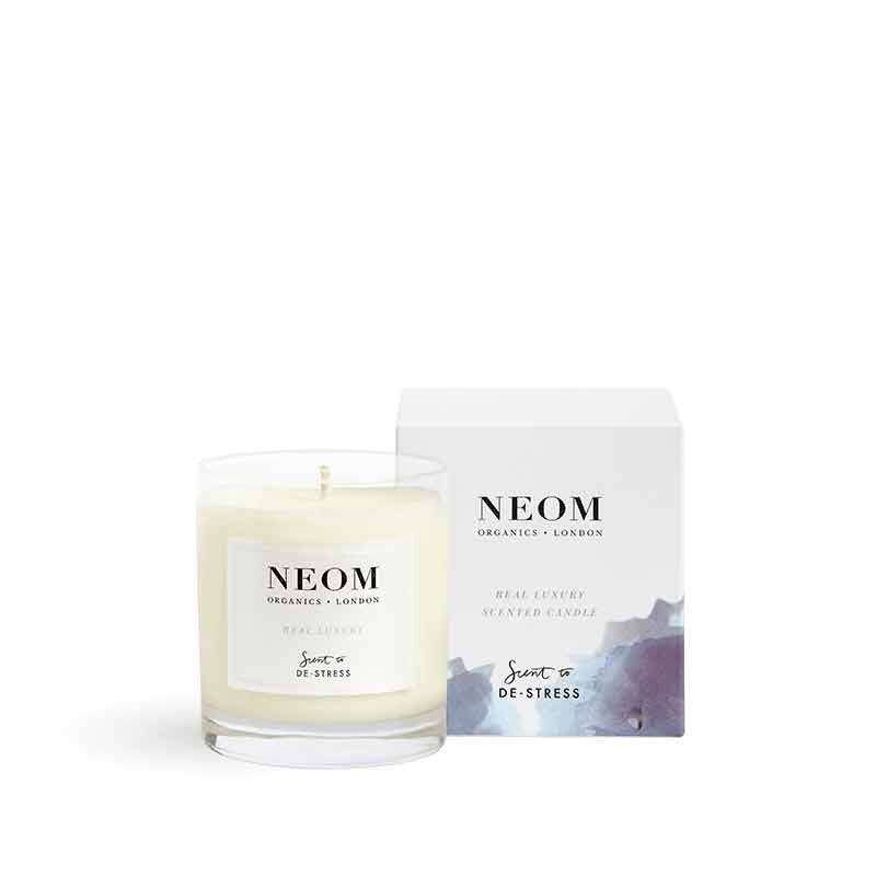Neom Scent to De-Stress Real Luxury Candle 1 Wick